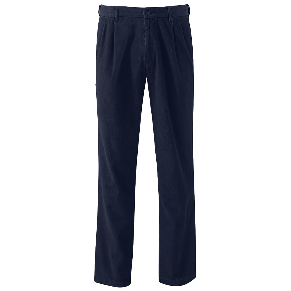 Croft & Barrow® Classic-Fit Pleated Corduroy Pants