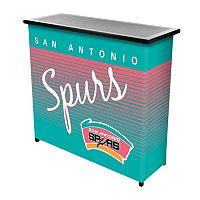 San Antonio Spurs Hardwood Classics 2-Shelf Portable Bar with Case