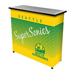 Seattle Super Sonics Hardwood Classics 2-Shelf Portable Bar with Case