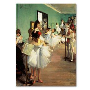 Trademark Fine Art ''Dance Examination'' Canvas Wall Art by Edgar Degas