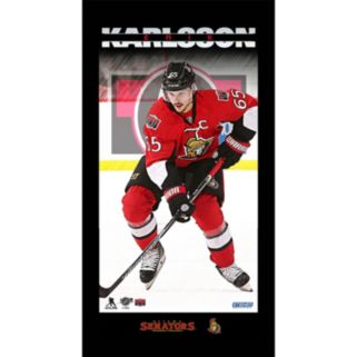 "Steiner Sports Ottawa Senators Erik Karlsson 10"" x 20"" Player Profile Wall Art"