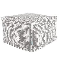 Majestic Home Goods Towers Indoor Outdoor Ottoman
