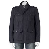 Men's Dockers Wool-Blend 4-Pocket Military Jacket