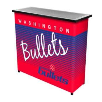 Washington Bullets Hardwood Classics 2-Shelf Portable Bar with Case