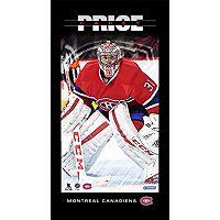 Steiner Sports Montreal Canadiens Carey Price 10