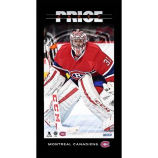 """Steiner Sports Montreal Canadiens Carey Price 10"""" x 20"""" Player Profile Wall Art"""