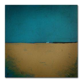 Trademark Fine Art ''Teal Horizon'' Canvas Wall Art