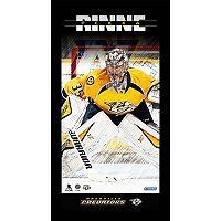 Steiner Sports Nashville Predators Pekka Rinne 10