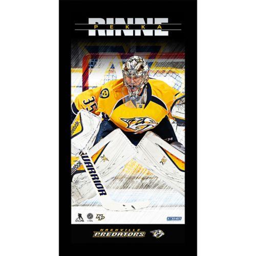 Steiner Sports Nashville Predators Pekka Rinne 10″ x 20″ Player Profile Wall Art