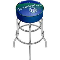 Minnesota Timberwolves Hardwood Classics Padded Swivel Bar Stool