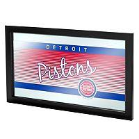 Detroit Pistons Hardwood Classics Framed Logo Wall Art