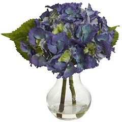 nearly natural Blooming Hydrangea Arrangement