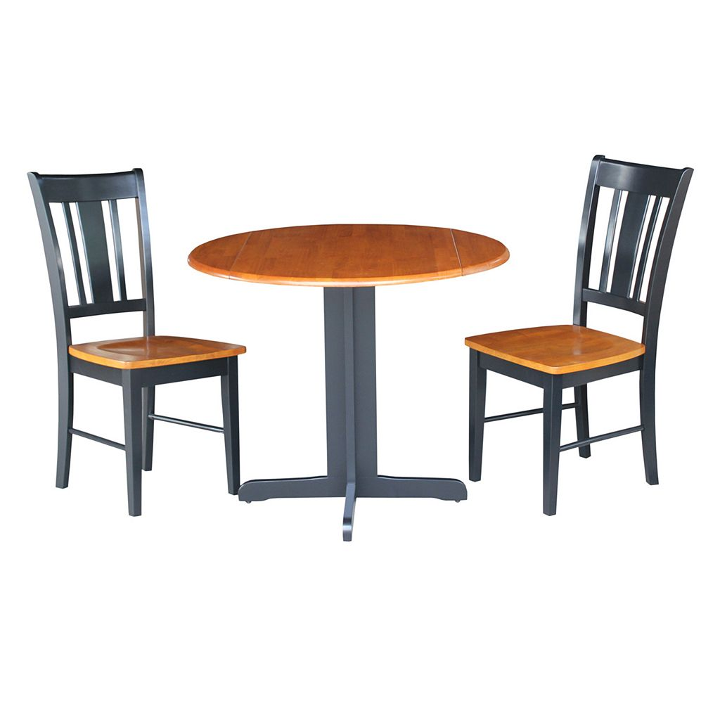 3-piece Two-Tone Dining Set