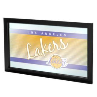 Los Angeles Lakers Hardwood Classics Framed Logo Wall Art
