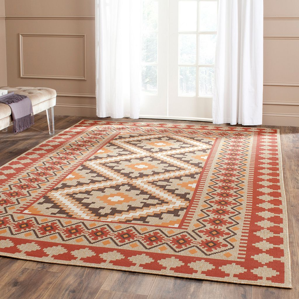 Safavieh Veranda Triple Diamond Indoor Outdoor Rug