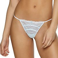 Jezebel Sylvia Lace G-String Thong Panty 56035 - Women's