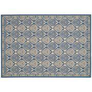 Safavieh Courtyard Tile Geometric Indoor Outdoor Rug