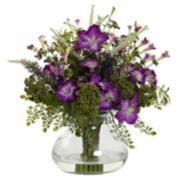 nearly natural Large Mixed Morning Glory Arrangement