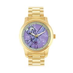 Disney Fairies Tinker Bell Women's Stainless Steel Watch