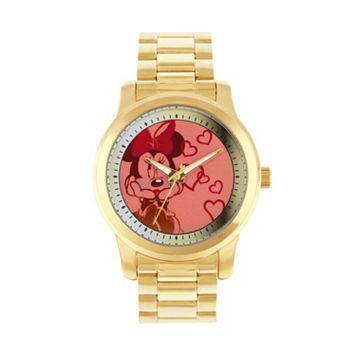 Disney's Minnie Mouse Women's Stainless Steel Watch
