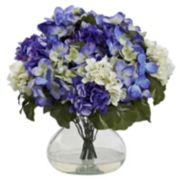 nearly natural Hydrangea Large Arrangement