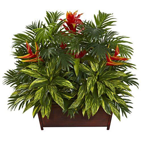 nearly natural Tropical Garden Arrangement