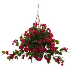 nearly natural Bougainvillea Hanging Plant