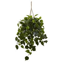 nearly natural Philodendron Hanging Plant