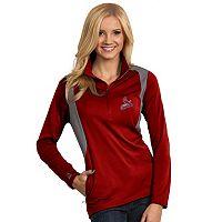 Women's Antigua St. Louis Cardinals Delta 1/4-Zip Pullover