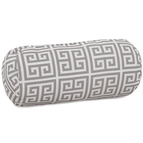 Majestic Home Goods Towers Indoor Outdoor Bolster Pillow