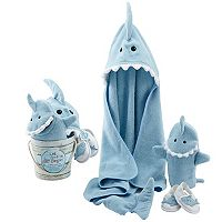 Baby Aspen Let the Fin Begin 4-pc. Bath Gift Set - Baby Boy