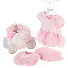 Baby Aspen Little Princess 3 pc Tutu Bodysuit Gift Set - Baby Girl