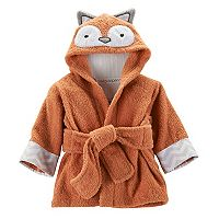 Baby Aspen Rub-a-Dub Fox Hooded Spa Robe - Baby Neutral