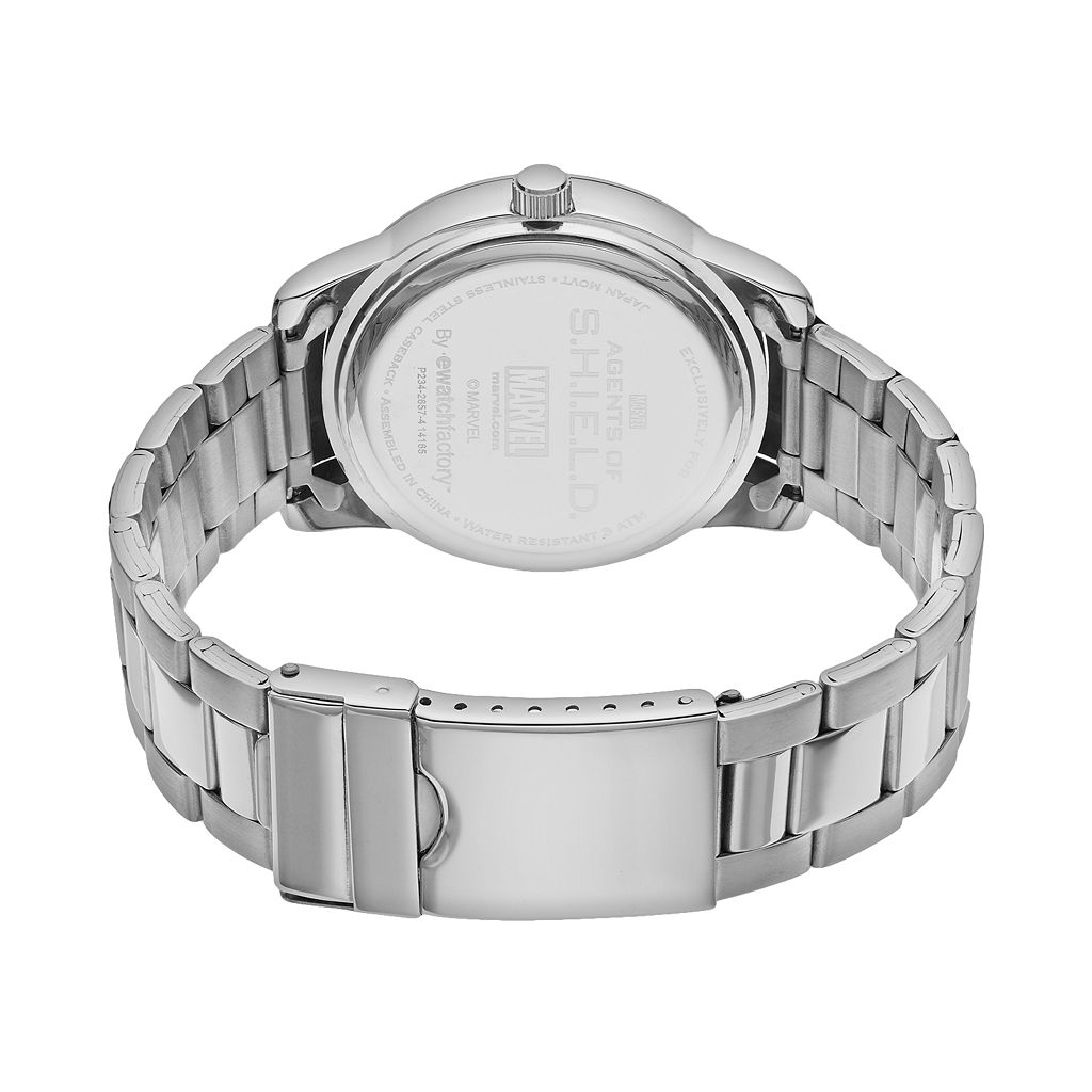 Marvel Agents of S.H.I.E.L.D. Stainless Steel Watch