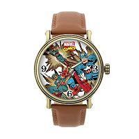 Captain America Leather Watch