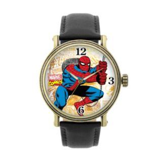 Spider-Man Leather Watch