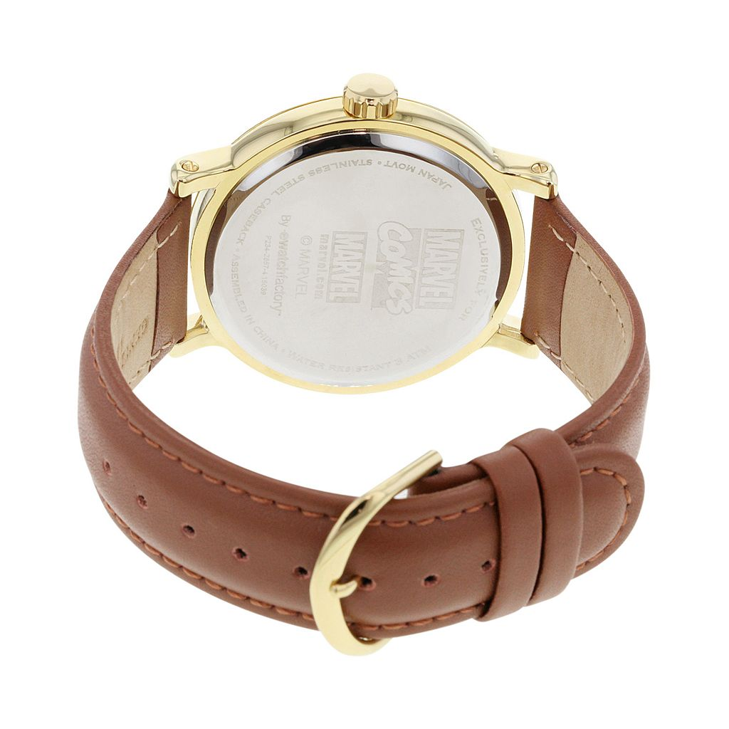 Iron Man Leather Watch