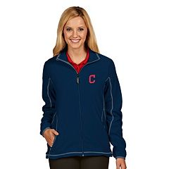 Women's Antigua Cleveland Indians Ice Polar Fleece Jacket