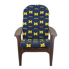 Michigan Wolverines Adirondack Chair Cushion