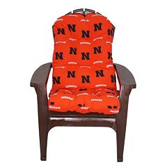 Nebraska Cornhuskers Adirondack Chair Cushion