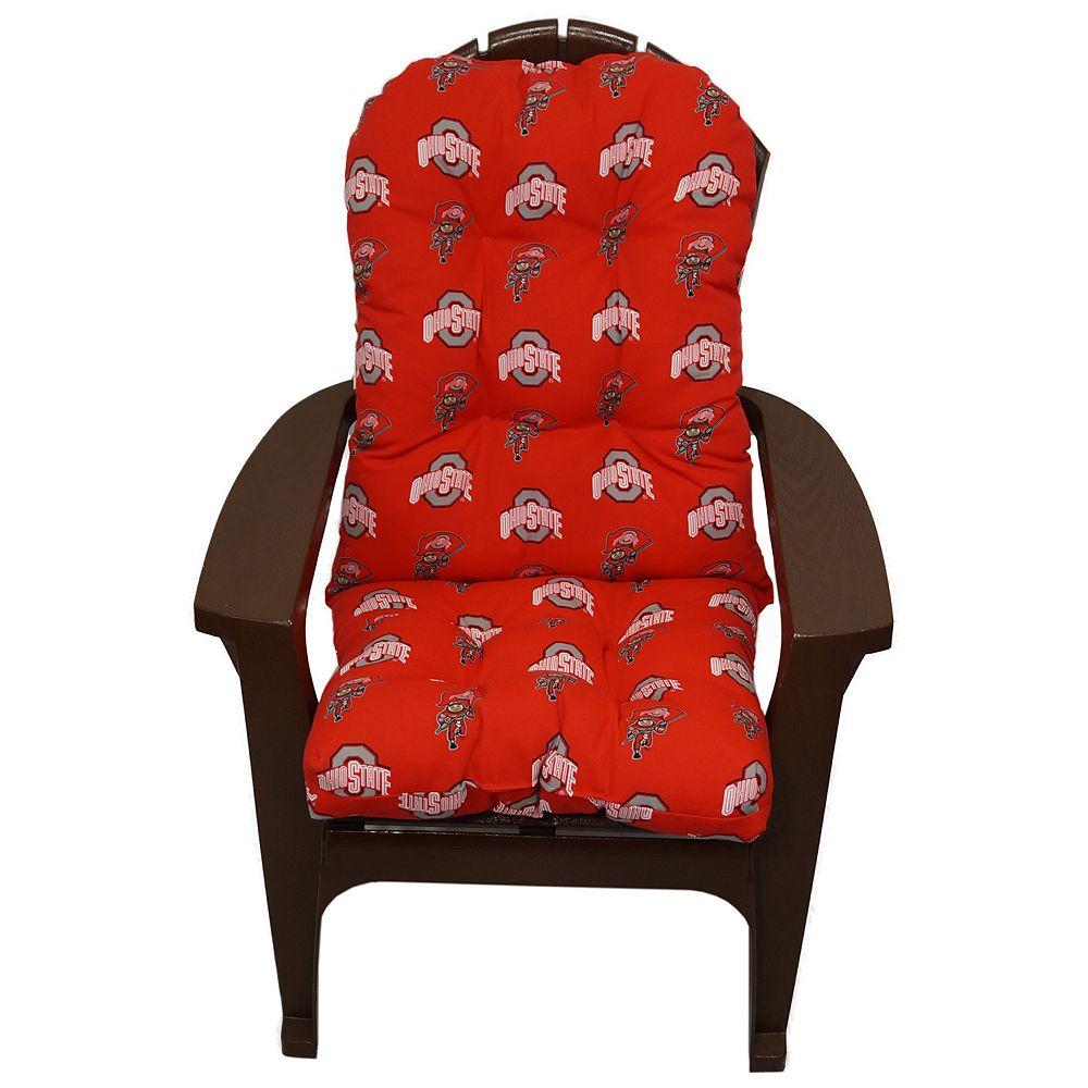 Ohio State Buckeyes Adirondack Chair Cushion