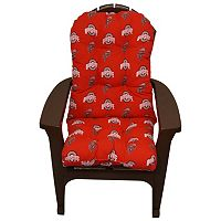 Ohio State Buckeyes Adirondack Chair Cushion