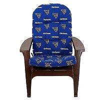 West Virginia Mountaineers Adirondack Chair Cushion