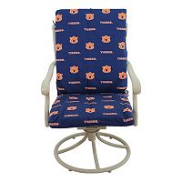 Auburn Tigers 2-Piece Chair Cushion