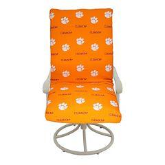 Clemson Tigers 2 pc Chair Cushion