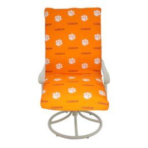 Clemson Tigers 2-Piece Chair Cushion