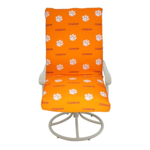 Clemson Tigers 2-Piece Chair Cushion