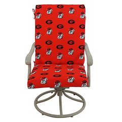 Georgia Bulldogs 2-Piece Chair Cushion