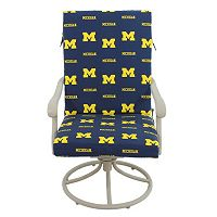 Michigan Wolverines 2-Piece Chair Cushion