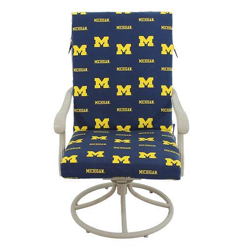 Michigan Wolverines 2-Piece Chair Cushion